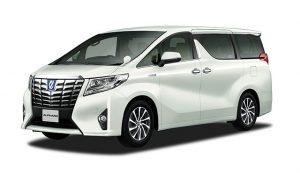All New Toyota Alphard