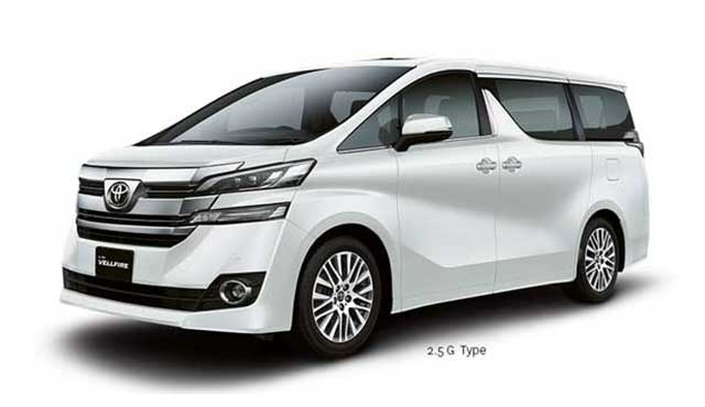 All New Toyota Vellfire