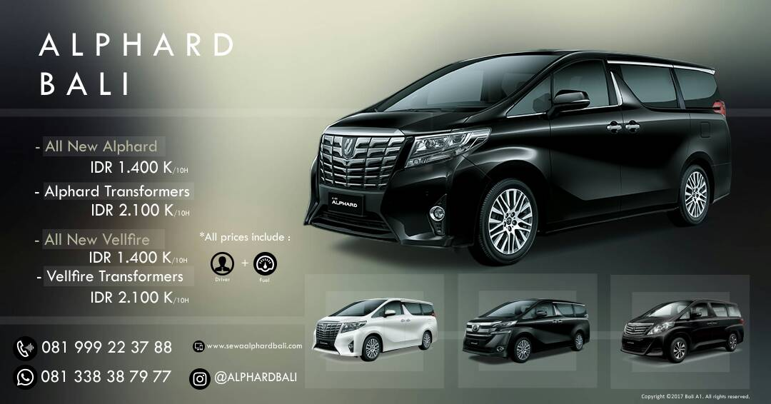 Alphard Car Rental Bali - Sewaalphardbali.Com