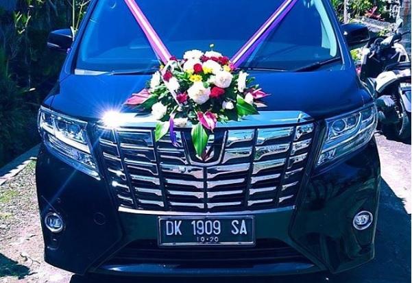 Sewa Alphard Untuk Wedding Di Bali