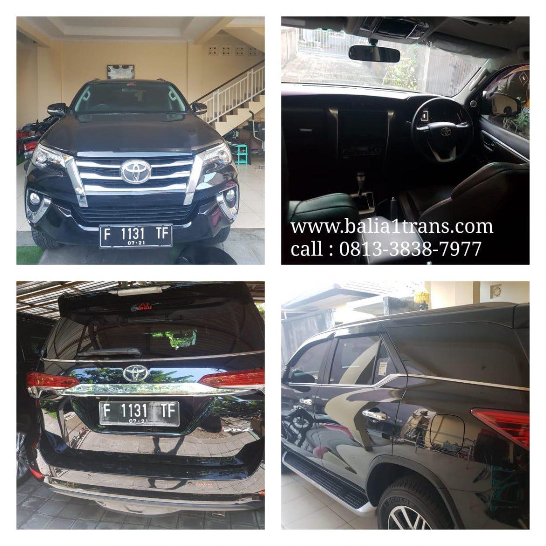 Keuntungan Sewa Mobil Fortuner Di Bali